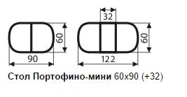 "Стол Портофино-мини ""Кубика"""